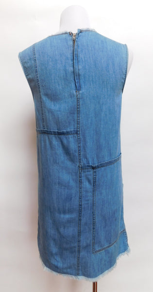 Jean Cut-Off Dress