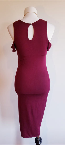 Maroon Goddess Dress