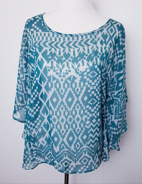 The Tribe Pattern Top
