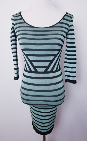 Bebe Striped Mini