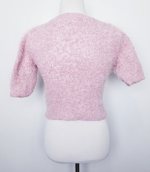 Forever Fluff Crop Sweater