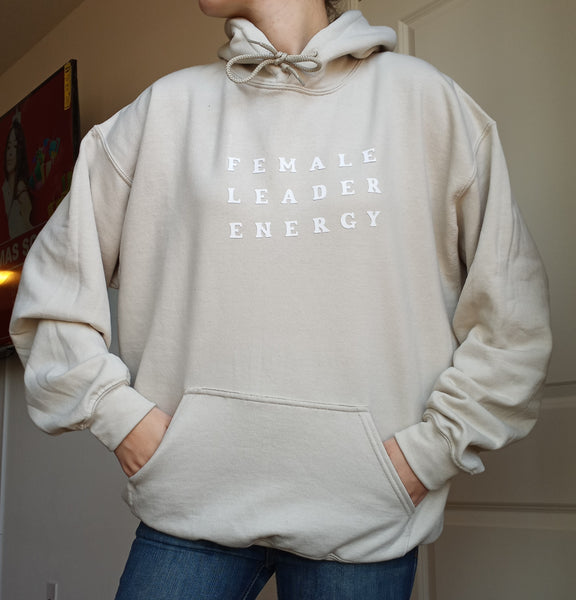 FEMALE LEADER ENERGY HOODIE