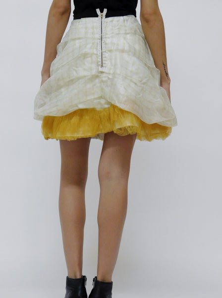 Layered Puff Skirt