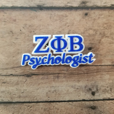 Zeta Phi Beta Psychologist Pin - Inventory