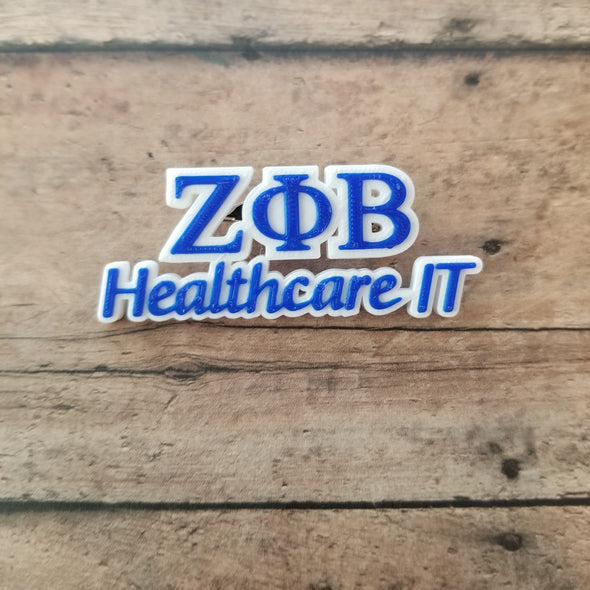 Zeta Phi Beta Healthcare IT Pin - Inventory