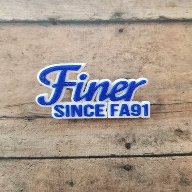 Finer Since FA91 Pin - Inventory