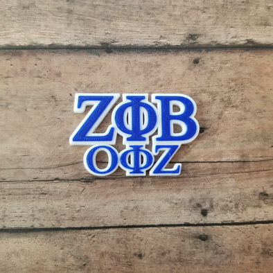 Zeta Phi Beta, Omicron Phi Zeta Chapter Pin - Inventory