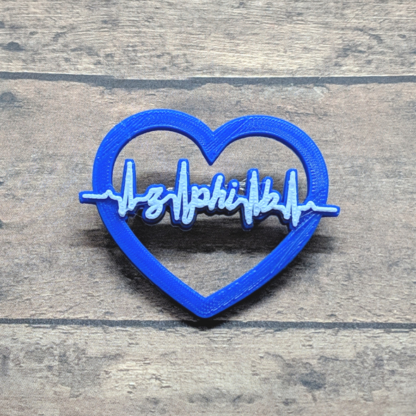 Beat of my Heart - Zeta Phi Beta Pin