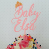 Custom Baby Name Cupcake Toppers