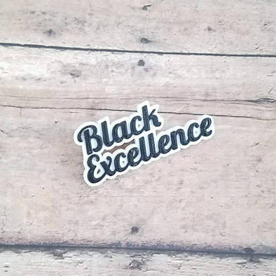 Black Excellence Pin - Inventory