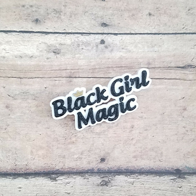 Black Girl Magic pin