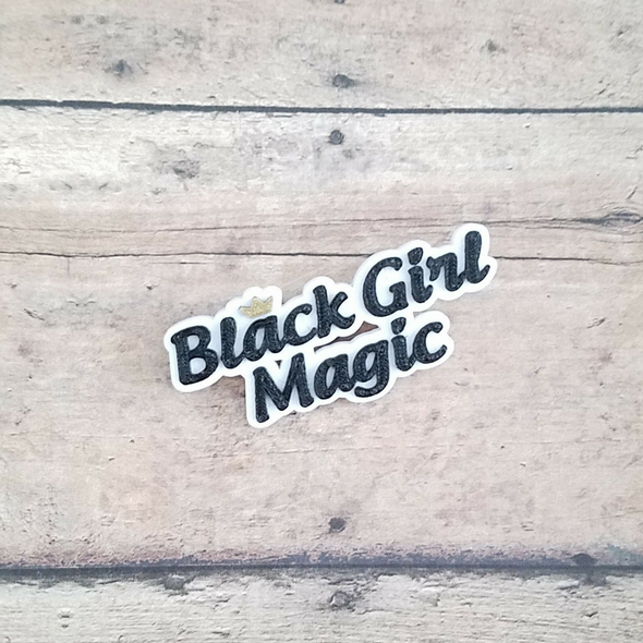 Black Girl Magic pin - Inventory