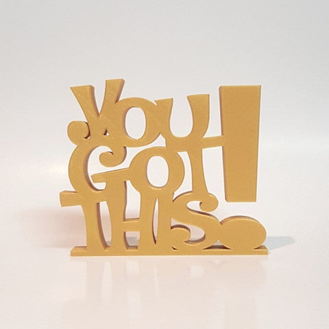 You Got This! Word Art