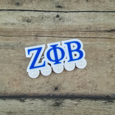 Zeta Phi Beta with 5 Pearls Pin - Inventory