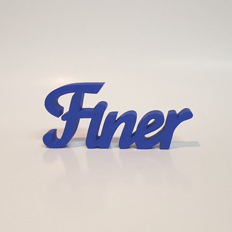 Finer Word Art
