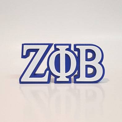 Zeta Phi Beta Word Art