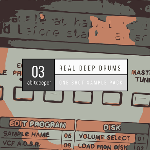 Real Deep Drums