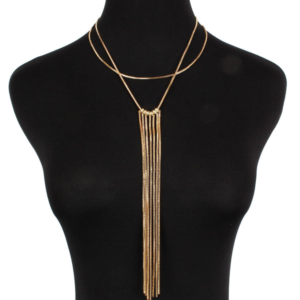 Waterfall-Choker-Necklace-gold