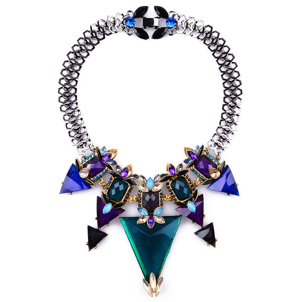 KOREN - Glam Gladiator Choker Necklace