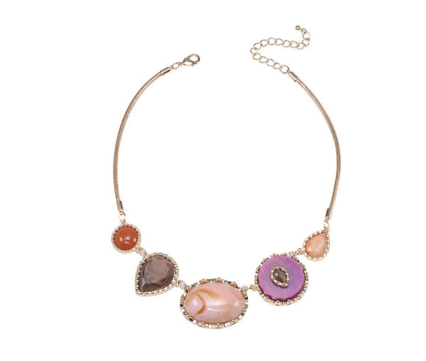 Gold-Rope-Bib-Necklace-pink