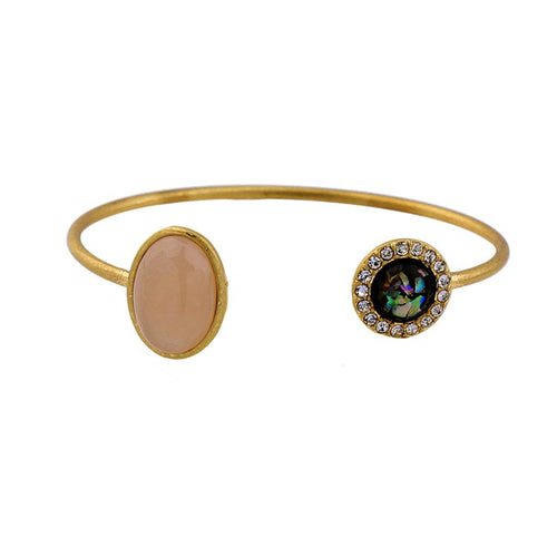 AMELI - Firestone Cuff Bangle