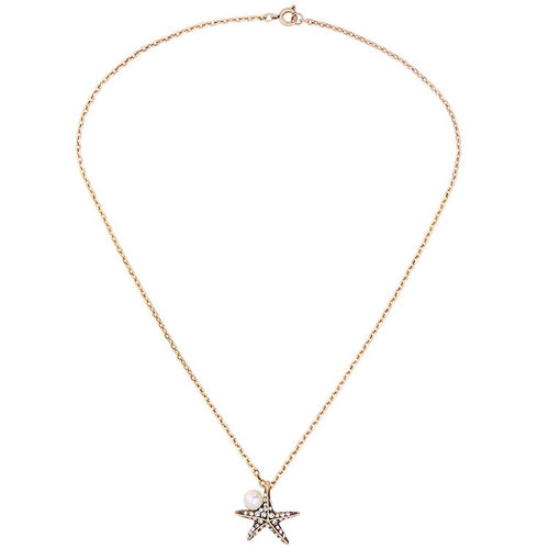 *YARA - Starfish Pearl Necklace
