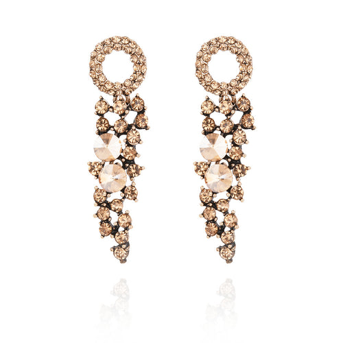 *TRUDY - Champagne Drop Earrings