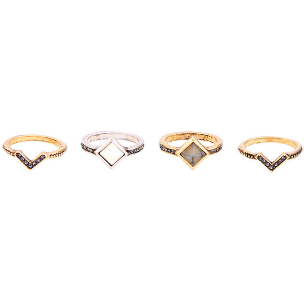 AMI - Geo Gladiator Ring Set