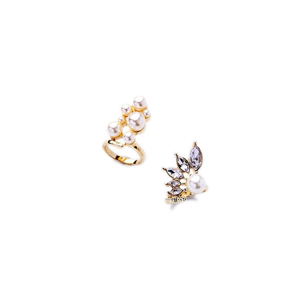BETTE - 4pc Cat Midi Ring Set