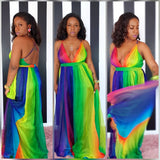 KIMA - Rainbow Maxi Dress