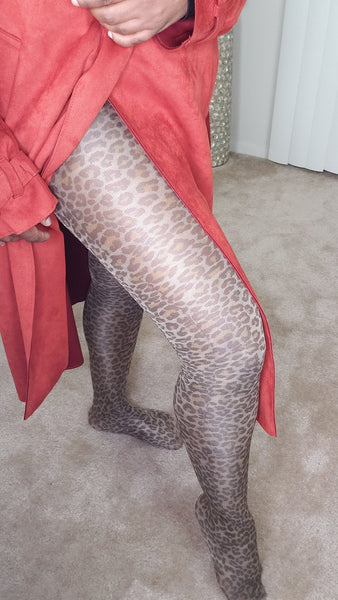Cheetah-print-Stockings