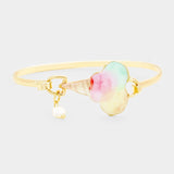QUIN - Ice Cream Bangle Cuff