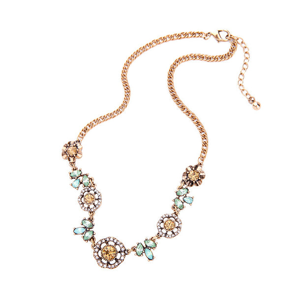 JOI - Flower Garden Choker Necklace