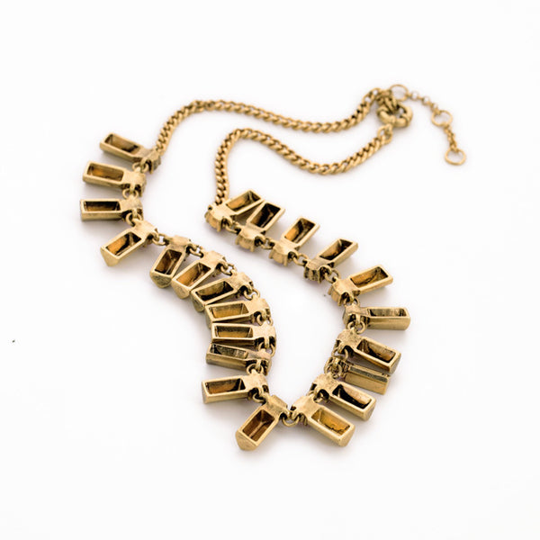 *TANGIE - Gladiator Statement Necklace