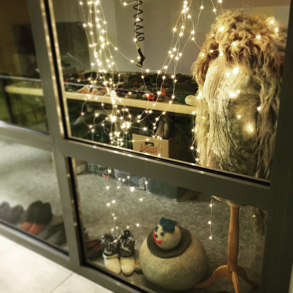 See how we decorated BURE BURE studio for Christmas