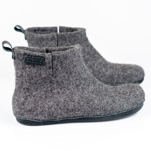 Dark Grey WOOBOOT mid for men