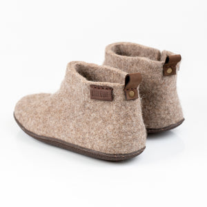 Women's Low Mid WOOBOOTS - Beige