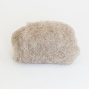 Natural grey - Bergschaf Tyrollean wool for wet felting