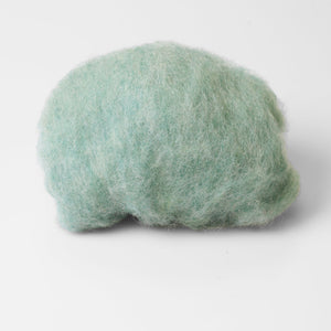 Pale Mint High Quality Wool for Wet Felting at Home