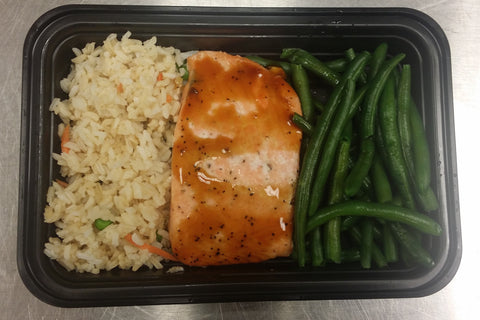 Mandarin Glazed Salmon