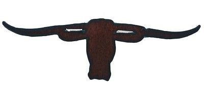 Western Home Decor Rustic Metal Kitchen Magnet Rodeo Longhorn Rack Cow