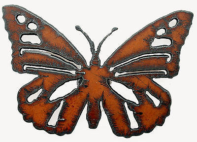 Rustic Metal Butterfly Magnet New! Fridge Magnet Garden Decor Yard Art