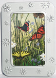 Note Card Set Reusable Embossed Tin Recycled Manufacturing