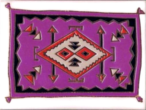 Southwestern Home Decor Ceramic Tile Kitchen Trivet Blanket Design