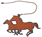 Rustic Decorative Fan Light Pull Western Horse Kokopelli Roadrunner Moose Star