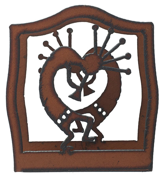 Rustic Metal Kokopelli Southwestern Home Decor Napkin Holder