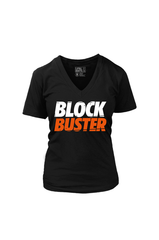 Block Buster (Women's V-Neck)