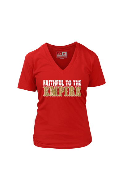 OG Faithful to the Empire (Women's V-Neck)