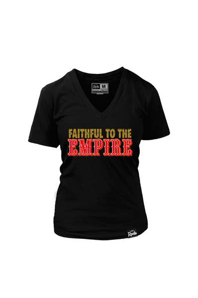 Faithful to the Empire (Women's V-Neck)