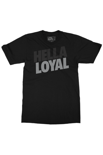 Hella Silver & Black (Men's Tee)